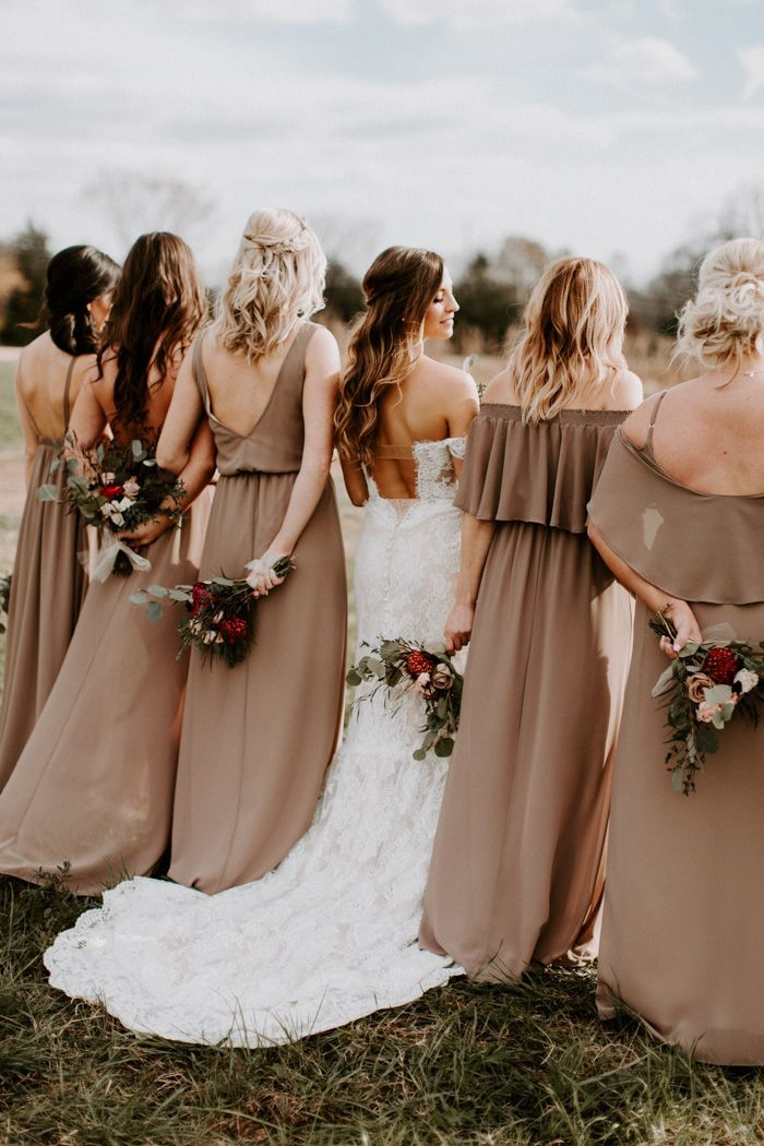The Perfect Brown Wedding Gown For Your Wedding