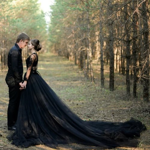 Black Wedding Gowns For Any Occasion